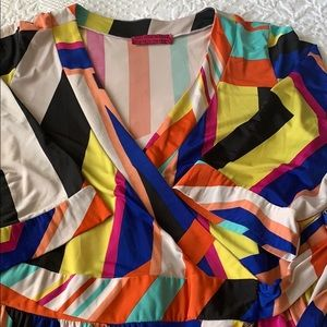 Melissa Masse wrap dress